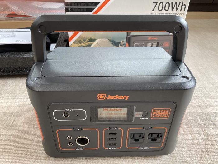 ジャクリソーラーパネル[60]とJackeryポータブル電源[700]の[口コミ&感想]レビューと使い方では!