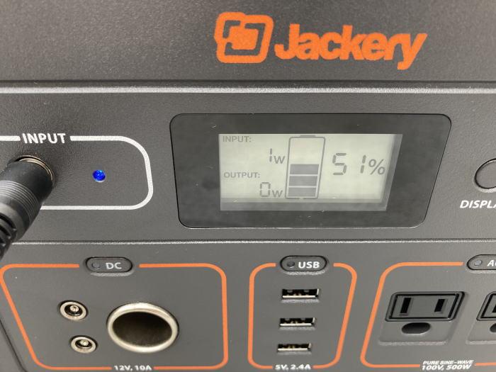 Jackery(ジャクリ)のポータブル電源【700】とソーラーパネル【60】のレビュー(口コミ&感想)と使い方では!