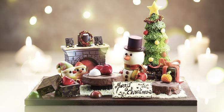 サイバーマンデー【ゴディバ クリスマス チョコレート】2018速報 世界でたった3つだけのゴディバのクリスマス・ショウピース